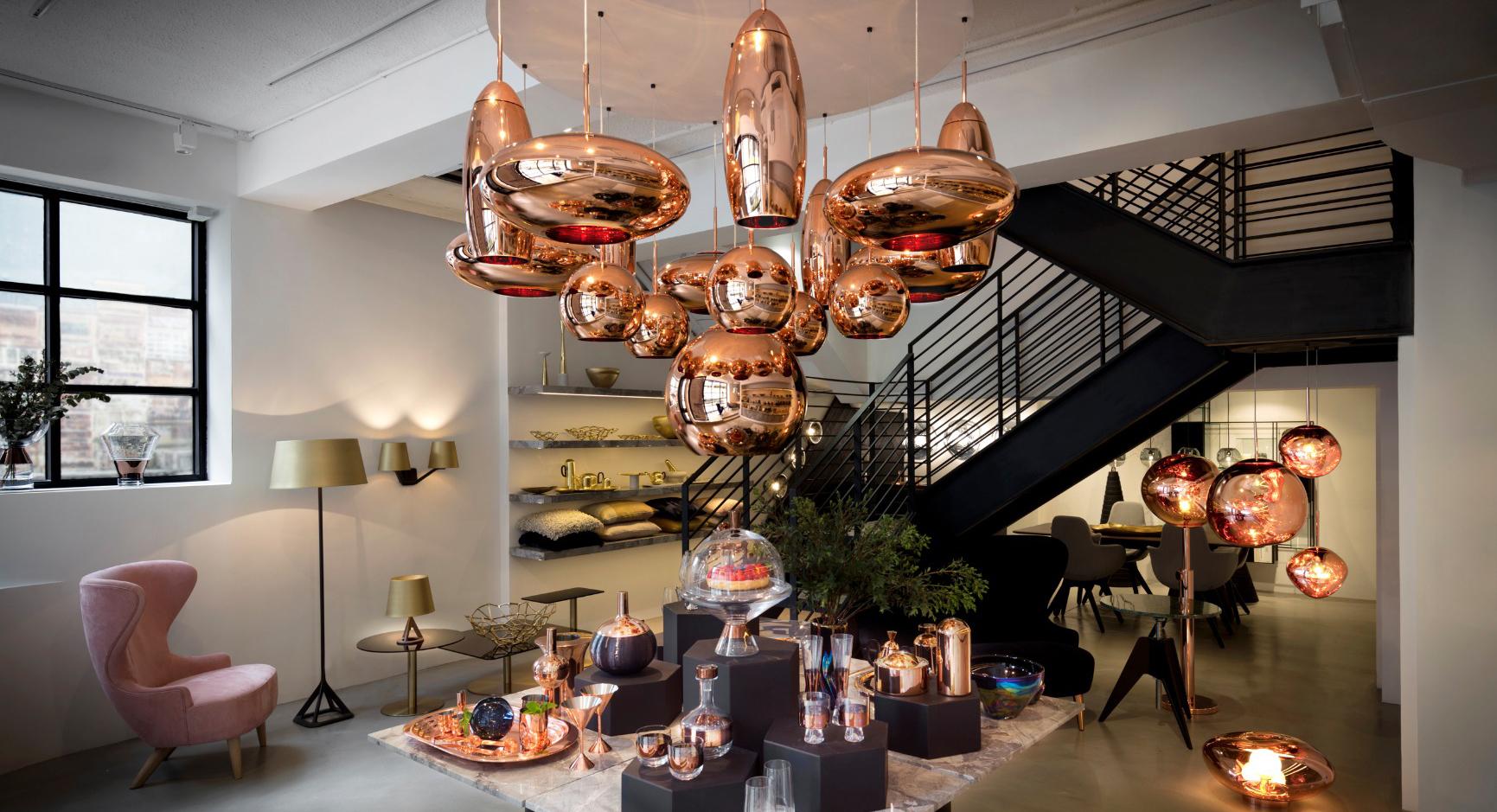 Tom Dixon мебель и свет