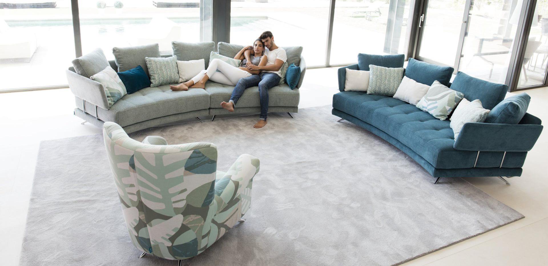 мягкая мебель Fama - диваны