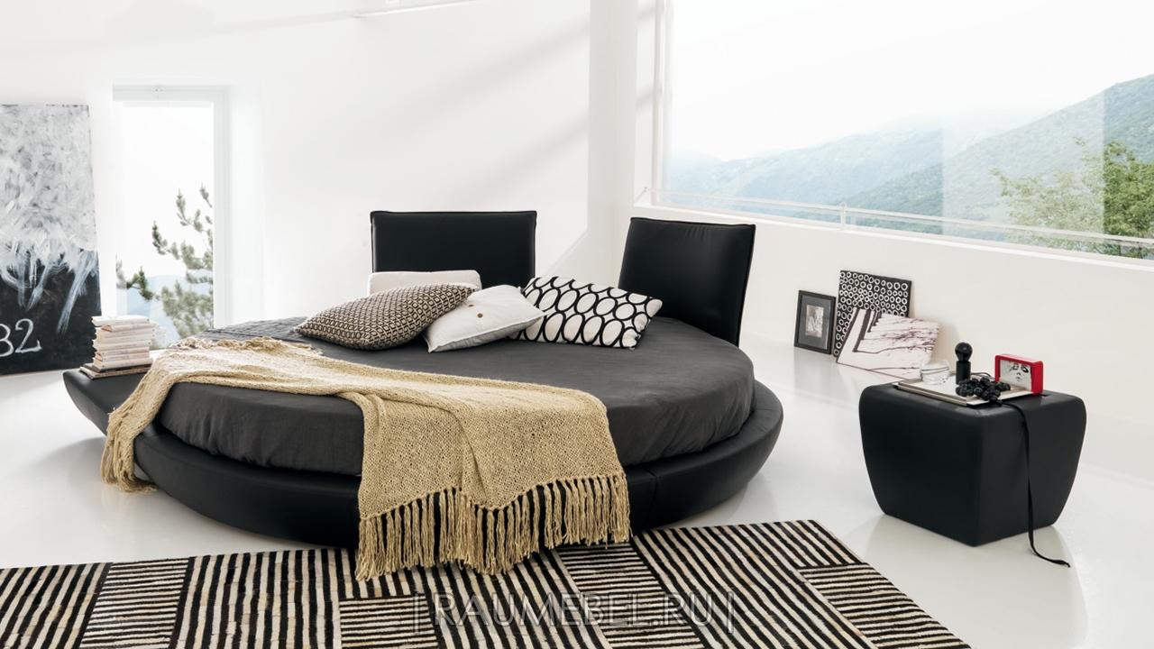 Итальянская кровать круглая - MIAMI