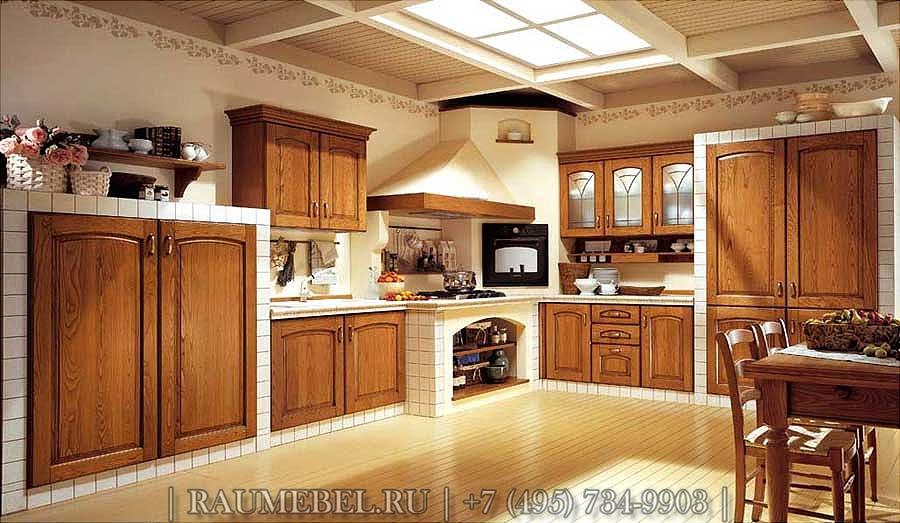 Cucina in finta muratura fai da te