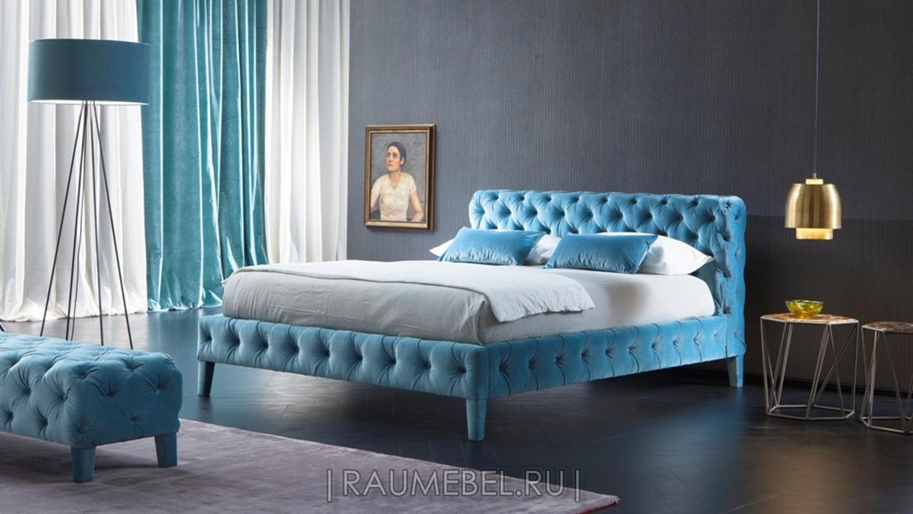 Двуспальная итальянская кровать Zuma