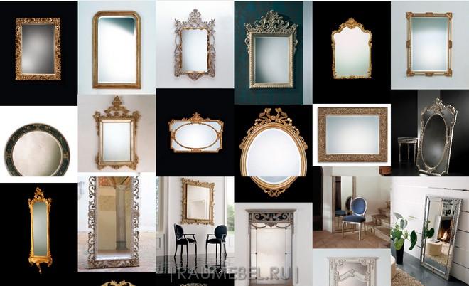 Итальянская мебель Spini. Зеркала