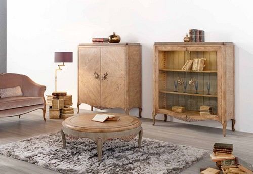 журнальный столик, библиотека, кушетка  фабрики AM Classic