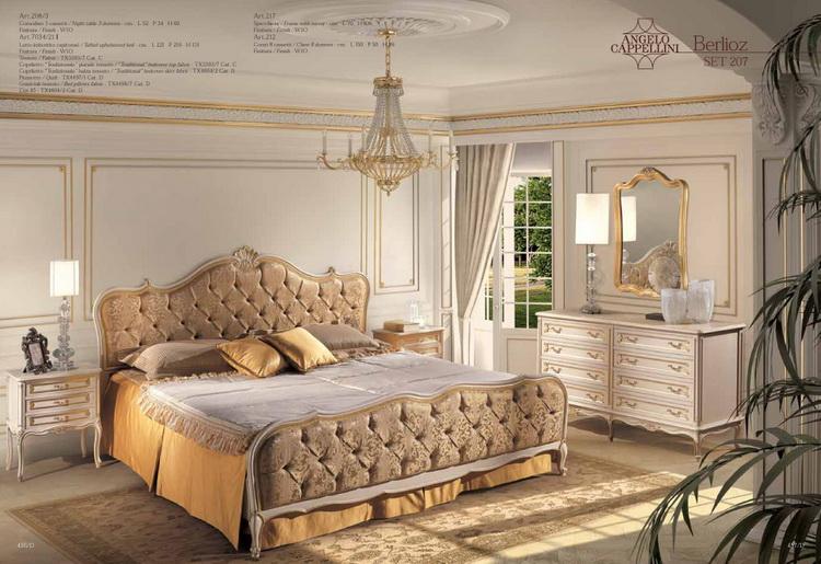 Angelo Cappellini мебель для спальной комнаты