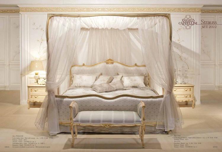 Angelo Cappellini кровати, банкетки, тумбочки для спальни