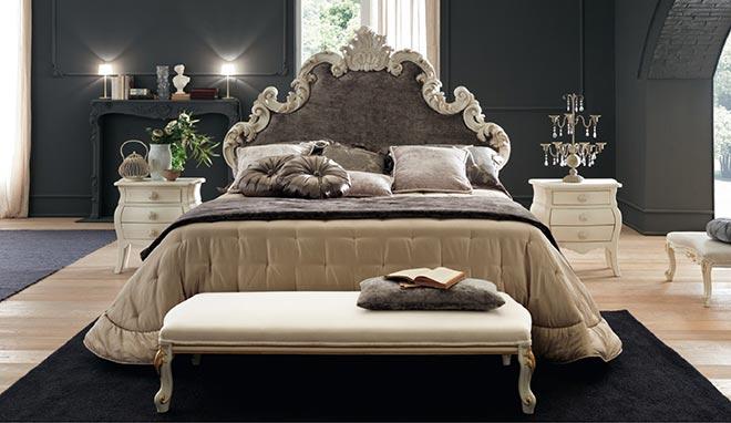 мягкая классическая скамья Ancelle Large у изножья кровати