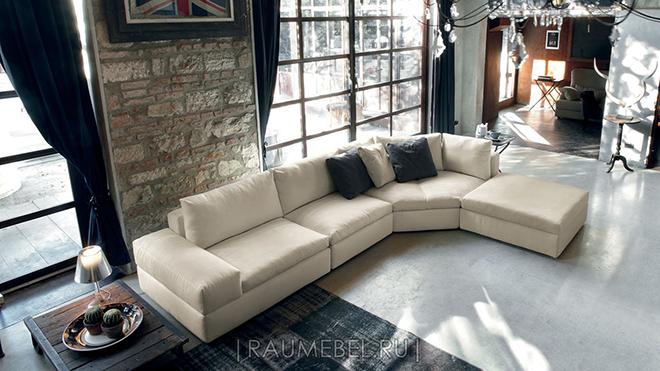 Итальянский модульный диван MUSA Italia